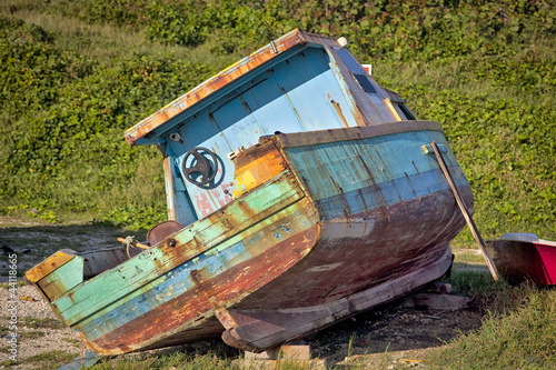 Old Barbados Boat