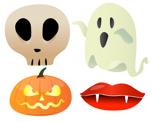 Personnages hallowen