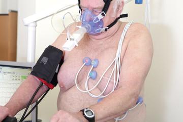 Kardiologie und Echokardiogramm