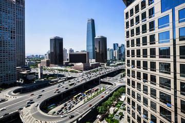 landscape of modern city ,beijing