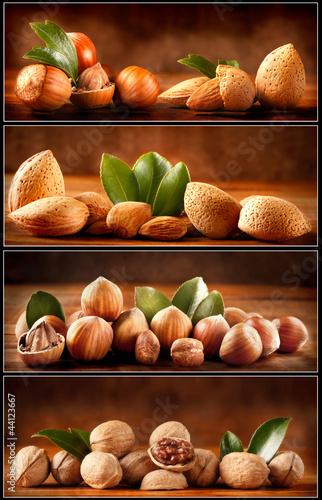 Frutta secca - Nocciole, Mandorle, Noci
