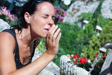S'hydrater sous la chaleur
