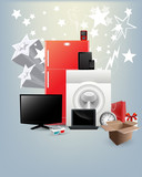 Festival Offer - Home Appliances Vectors poster