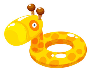 Swim ring Vector Illustration