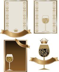Etichetta Vino con logo calice