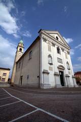 La chiesa di Trichiana