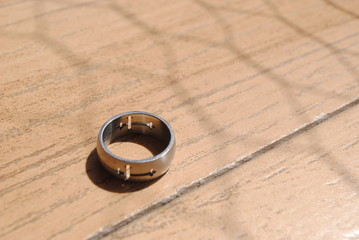 Ring on the floor