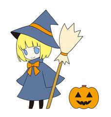 ハロウィン 魔女