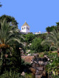 Tropical gardens in Nerja Andalucia Spain