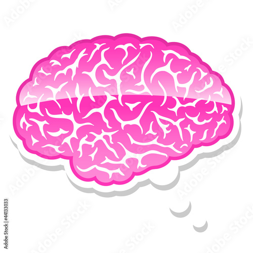 brain thought bubble
