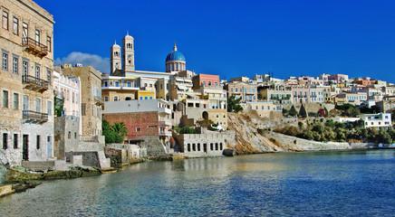 beautiful greek island series - Syros