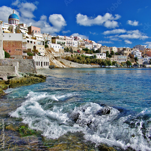 Syros island, Cyclades, Greece