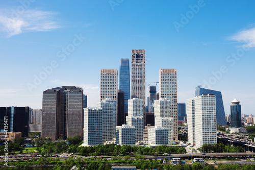 Foto op Aluminium Beijing landscape of modern city ,beijing