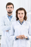 Dentist and his assistant are always ready to help poster