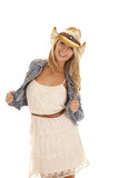 cowgirl smile hold jacket
