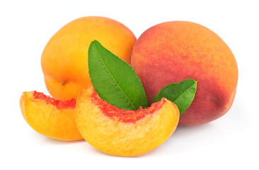 Peach and peach segments