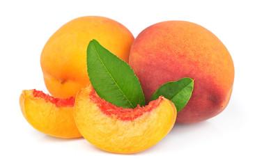 Peach and peach segments