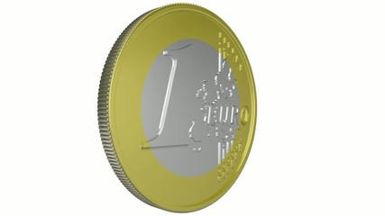 Euro coin - loop.alpha.1080p