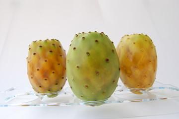 Higos chumbos, chumbera, nopal. Opuntia ficus indica