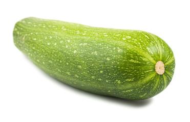 Green ripe courgette