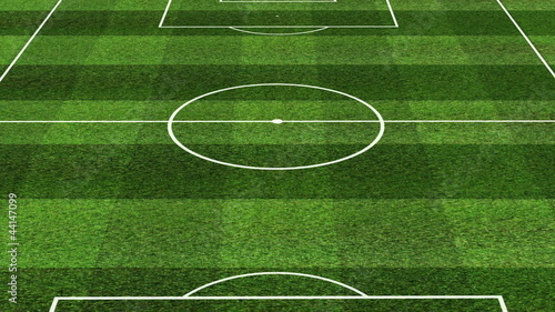Soccer field animation