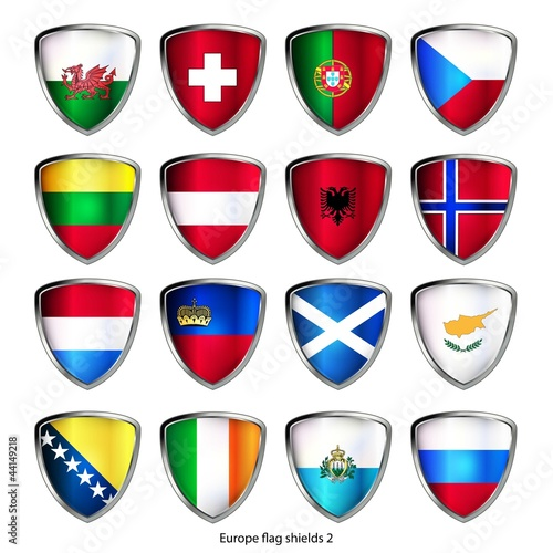 icon set europa flag shields 2