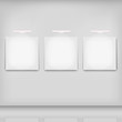 white picture background, set of 3