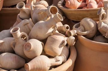 Keramik der Berber aus Guellala/Tunesien