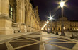 The Louvre Palace (by night), France