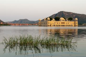 Jal Mahal (Water Palace) in Jaipur, Rajasthan, India