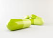 3d green capsule