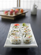 sushi - california roll all in focus