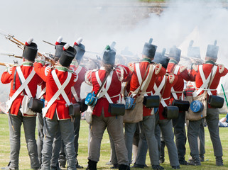 Redcoat soldiers