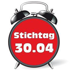 Wecker - Stichtag 30.04