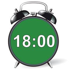 Wecker - 18:00