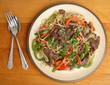 Thai Beef Noodle Stir Fry Meal