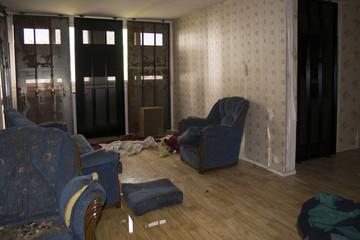 appartement abandonné