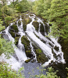 Swallow Falls near Betws-Y-Coed