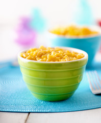 Macaroni and cheese - kids food