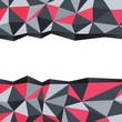 Abstract triangle background with space for text. Vector illustr