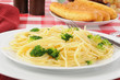 Buttered pasta