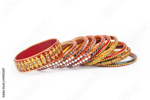 Colorful  Indian Traditional Bangles