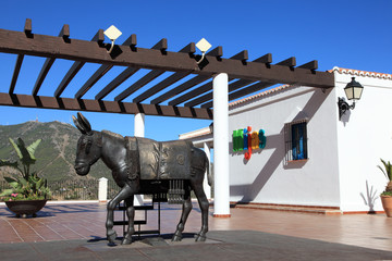 Donkey of Mijas, Costa del Sol, Andalusia Spain