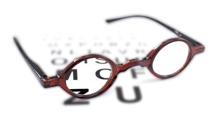 lunettes correctrices examen de la vue