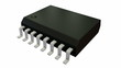 Seamless Loop of Isolated Rotating SOIC16W Electronic Package