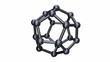 Seamless Loop of Isolated Rotating C20 Cage Fullerene