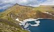 mountain lake panorama caucasus russia