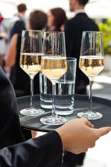 Drei Gläser Rosé