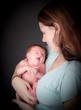 jeune maman et son nouveau né