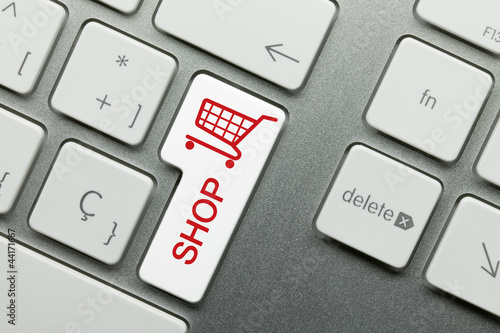 Shop keyboard